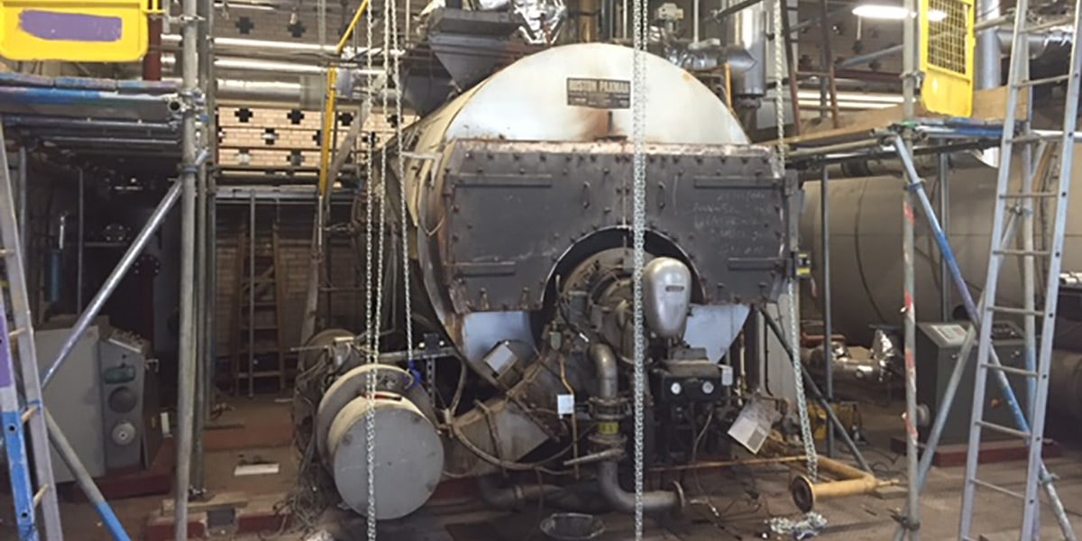 Successful Boiler Removal