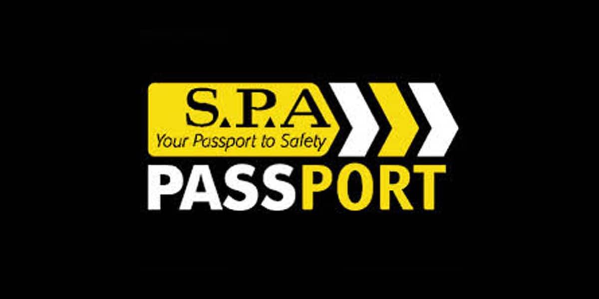 SPA Safety Passports